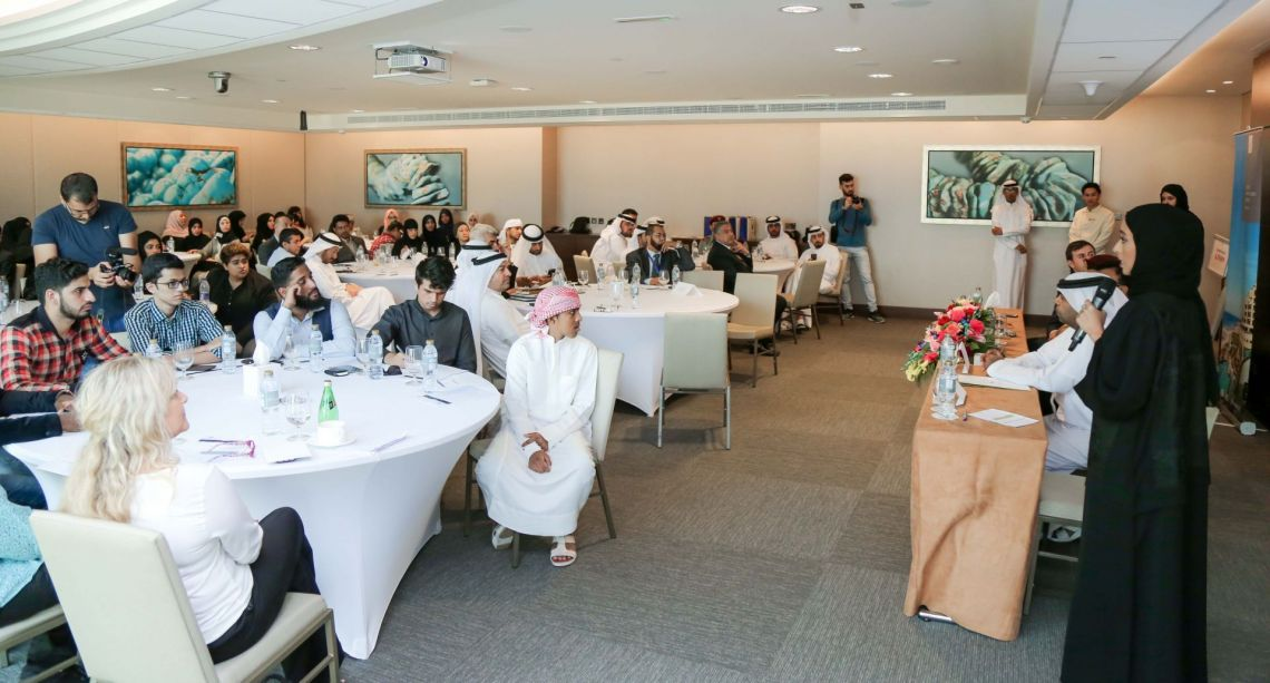 Ajman CSR Center Holds a meeting with representatives of government, private, service and charity entities in the emirate